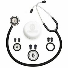 BJÖRN HALL Adult & Paediatric Stethoscope Stockholm Series - Black