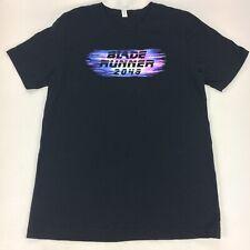 Blade Runner 2049 Mens L Official 2017 Movie Promo SS Shirt Comic Con IMAX Black