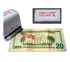 Donald Trump Lives Here MAGA Make America Great Again Self-Inking Rubber Stamp
