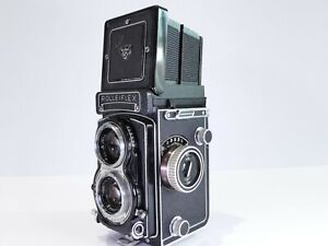 ROLLEIFLEX T TYPE 1 6X6 120 FILM MEDIUM FORMAT TLR CAMERA F3.5 TESSAR LENS NICE