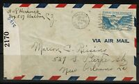 Canal Zone 1942 Censored Cover - Lot 092017