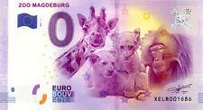 ALLEMAGNE Magdeburg, Zoo, 2017, Billet 0 € Souvenir