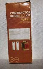 Heath/Zenith Contractor Doorbell Kit Wired Dw-102