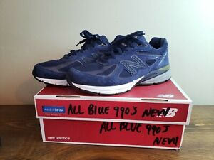 New Balance 990v4 Blue Running Shoes Men 10 M990nle4 Made in USA