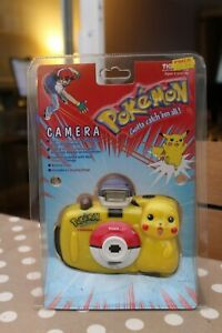 Pokémon Nintendo Tiger Electronics 1999 Pikachu 35mm Flash Camera Mint Unopened