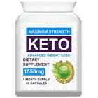 ✅ KETO BHB ADVANCED WEIGHT LOSS 1550mg PURE FIT KETONE DIET SUPPLEMENT