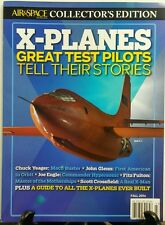 Air & Space Smithsonian X Planes Great Pilots Tell Their Story FREE SHIPPING sb