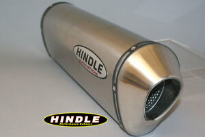 "Hindle 14"" long for 2"" pipe, Evolution Titanium Muffler Left -75S-1420TL"
