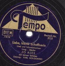 Karl Golgowski 1942 mit Jo Alex : Liebe, kleine Schaffnerin