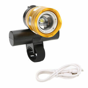 Bike Light USB Rotatable Smart-touch Switch Three‑Mode Waterproof Bicycle Light
