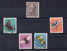 Suiza Pro Juventud Mariposas e insectos serie del año 1950 (DQ-802)