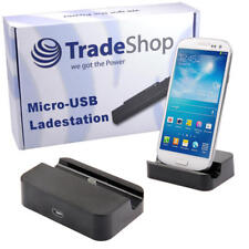 Micro USB Dockingstation Ladestation Ladegerät für Samsung Galaxy Mini 2 S6500
