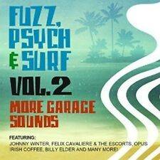 Various Artists - Fuzz, Psych & Surf, Vol. 2 - More Garage Sounds [New CD] Manuf