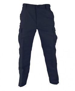 Navy Blue Uniform BDU Tactical Military Pants Propper Zipper Fly 60/40 Ripstop
