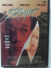 SKINNER DVD 90's horror Ted Raimi Ricki Lake Traci Lords