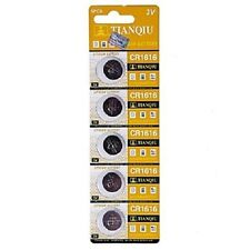 100pc TIANQIU CR1616 DL1616 ECR1616 BR1616 3V Lithium Button Cell Watch Battery