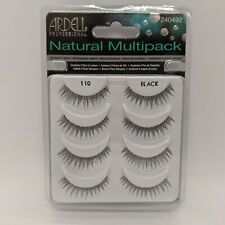 Ardell Natural Multipack - False Eyelashes Black - 4 pairs
