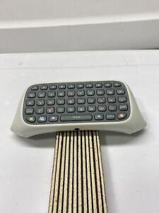 White Microsoft Xbox 360 Controller Chatpad Keypad Keyboard