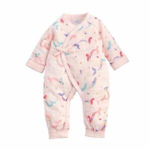 New Mud Pie Baby Girl MERMAID TAKE ME HOME Muslin One pc Pink 3-6 mos Gift