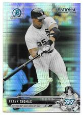 Frank Thomas 2017 Bowman Chrome National Sports Collector Prizm Refractor NSCC