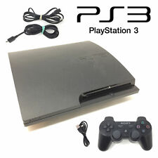 Sony PlayStation 3 Slim Console 120Gb Black Ps3 Complete