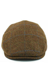 Mens Gents Vintage Wool High Quality Flat Cap