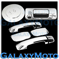 14-19 TOYOTA TUNDRA DOUBLE CAB Chrome 4 Door Handle+Tailgate Camera+Gas Cover