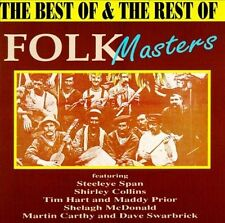 The Best of & the Rest of Folk Masters Cd Sigillato Sealed
