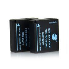 DSTE 2 x Full Coded DMW-BLG10E Battery For Panasonic DMC-GF6 Camera