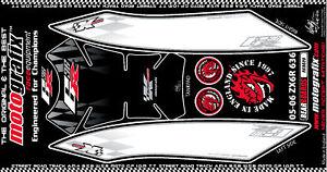 Kawasaki Ninja ZX6R 636 05 - 06 Rear Number Board Motografix 3D Gel Protector