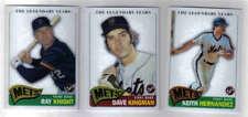 2005 Topps Pristine Mets Lot Knight Kingman Hernandez