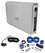 SSL EVO4000.1 4000 Watt Class D 1-Ohm Mono Car Audio Amplifier+Amp Kit+Remote