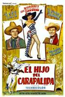 OLD LARGE ROY ROGERS COWBOY MOVIE POSTER, Son Of Paleface 1952