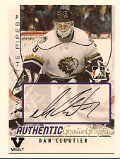 DAN CLOUTIER IN THE GAME ITG FINAL VAULT AUTO