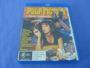 Pulp Fiction Blu-ray Quentin Tarantino Free Postage