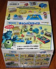 Re-Ment Miniature Disney Pixar Monsters University Campus Life Full Set NEW MISB