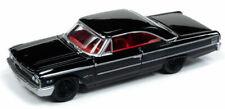 1963 Ford Galaxie 500  Black Custom **RR**Johnny Lightning Muscle 1:64 RAR