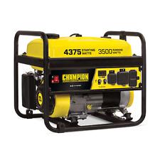 100559R - 3500/4375w Champion Generator, manual start - Refurbished