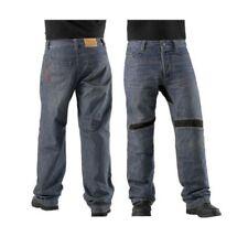 Icon Motorcycle Victory Denim Pants Jeans Mens Blue/Black Size 42