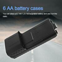 6 AA Battery Case Storage Box For Baofeng UV5R 5RA 5RB 5RA Plus BL5L 2-Way Radio