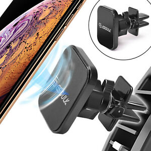 Universal Magnetic Rotatable Car Air Vent Phone Holder for iPhone/Galaxy/LG/+