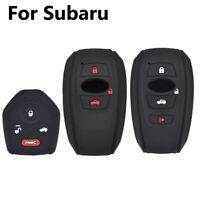 Silicone Key Cover For Subaru Outback XV Forester Legacy Fob Sleeve  Remote Case