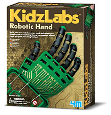 New  Robotic Hand Kids Personal Robot Fingers Realistic Gripping Toy Educational