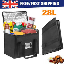 More details for large food delivery insulated bags pizza takeaway thermal warm & cold bag ruck