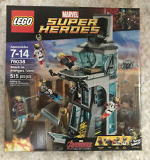 Lego Marvel Super Heroes  Attack on Avengers Tower (76038)