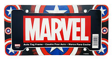 1 Marvel Comics Avenger Captain America License Plate frame Auto Car Truck SUV