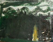 ANTIQUE ABSTRACT EXPRESSIONISM OIL PAINTING