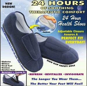 Adjustable Foam Memory Health Slippers Unisex Men Women Brand New Comfortable