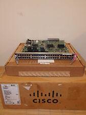 NEU Cisco WS-X6148-GE-TX 48-Port 10/100/1000 Gigabit Module NEW OPEN BOX