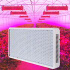 1200W Full Spectrum LED Grow Light Panel Hydroponic Plant Veg Lighting Lamp